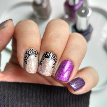 A England Medley nail art by Salla Hietanen