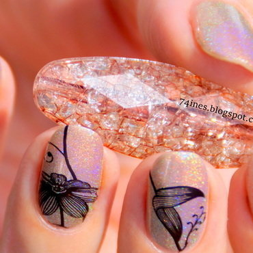 Amazing nail art by 74ines