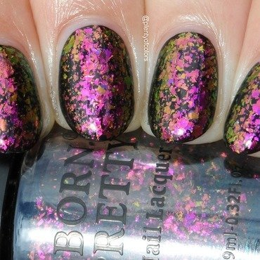 Born Prett Store Violet Galaxy Swatch by Plenty of Colors