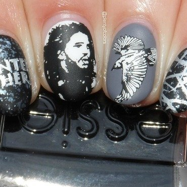 Winter is here nail art by Plenty of Colors