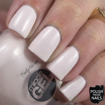 Sally Hansen Creme de la creme Swatch by Marisa  Cavanaugh