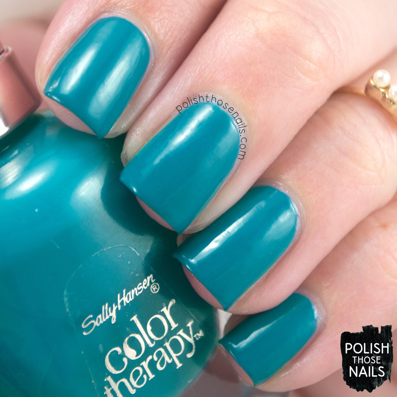 Sally Hansen Teal Good Swatch by Marisa  Cavanaugh