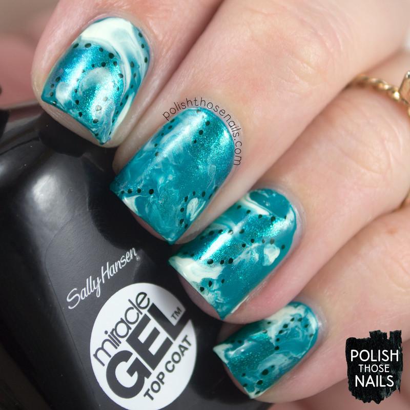 Get Smooshed nail art by Marisa  Cavanaugh