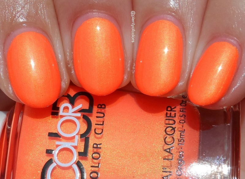 Color Club Foxy mama Swatch by Plenty of Colors