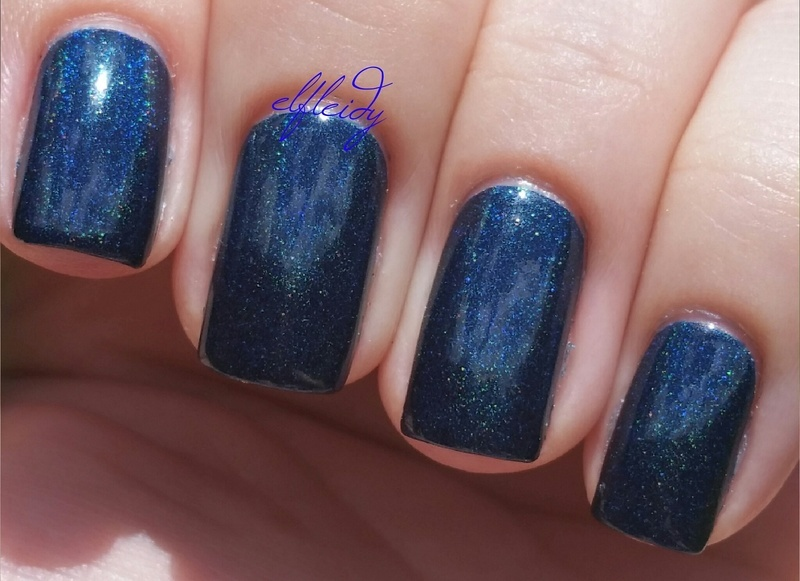 Cupcake Polish Bat-chelor Pad Swatch by Jenette Maitland-Tomblin