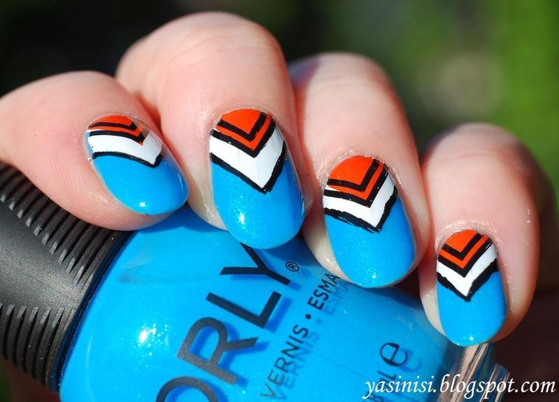 Feeling Shapely nail art by Yasinisi