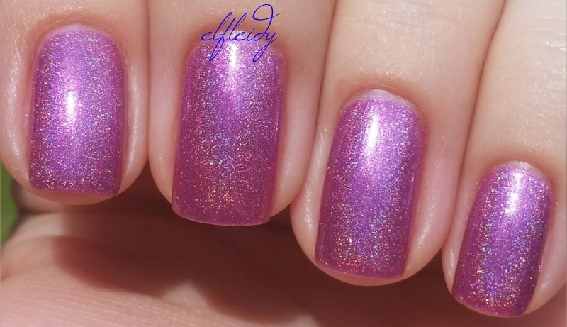Top Shelf Lacquer Huckleberry Hooch Swatch by Jenette Maitland-Tomblin