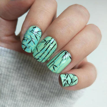 Bamboo Nails nail art by Salla Hietanen