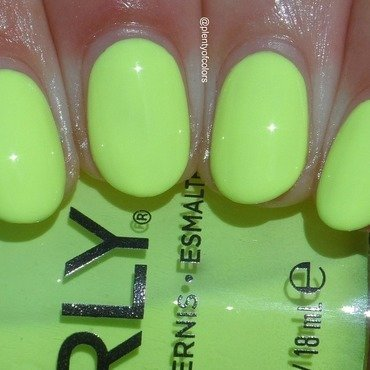 Orly Key Lime Twist Swatch by Plenty of Colors