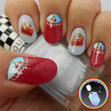 My Oh My, Sweet Cherry Pie! nail art by Ithfifi Williams