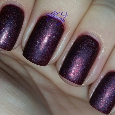 KBShimmer Oh Matte! and Cupcake Polish Arrive Alive Swatch by Jenette Maitland-Tomblin