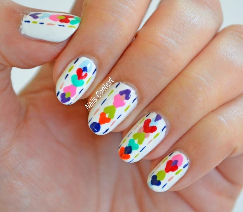 Colorful Nails  nail art by NailsContext