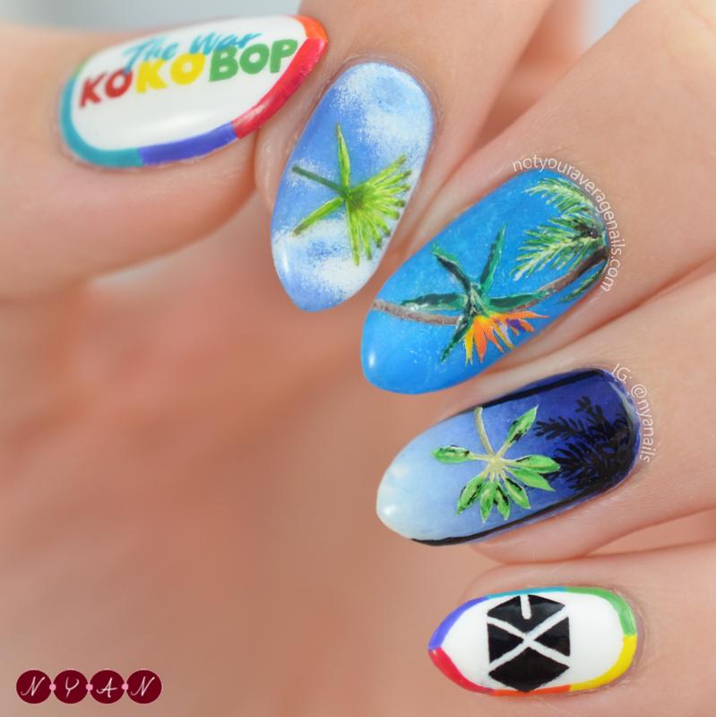 Ko Ko Bop nail art by Becca (nyanails) - Nailpolis: Museum of Nail Art