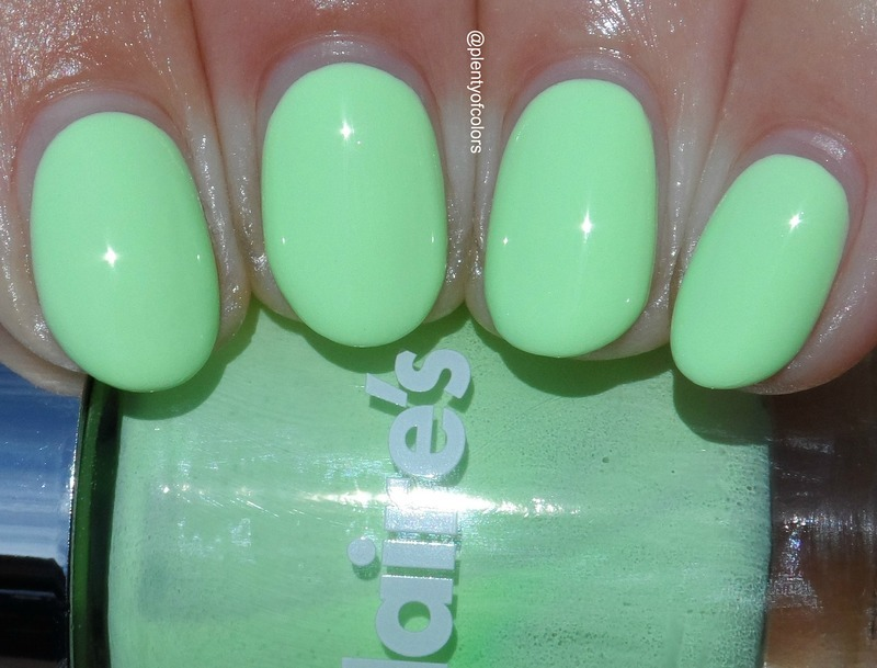 Claire's White Neons Swatch by Plenty of Colors