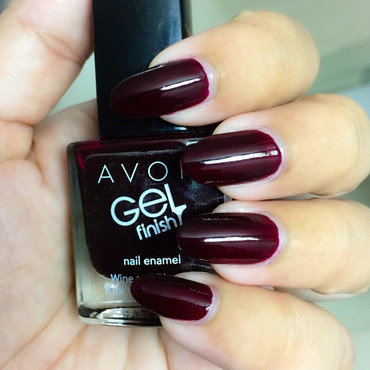 Avon Gel Finish Wine and Dine Me Swatch by Demi