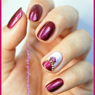 Ruby nail art by ELIZA OK-W