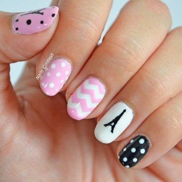 Paris Nail Art  nail art by NailsContext