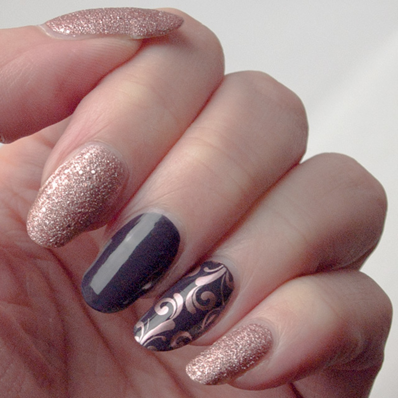 Fall is coming! nail art by What's on my nails today?