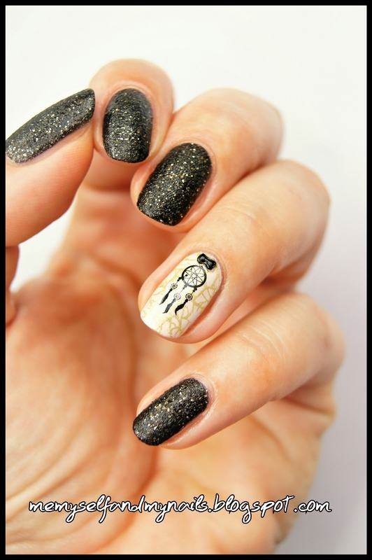 Dream catcher nail art by ELIZA OK-W