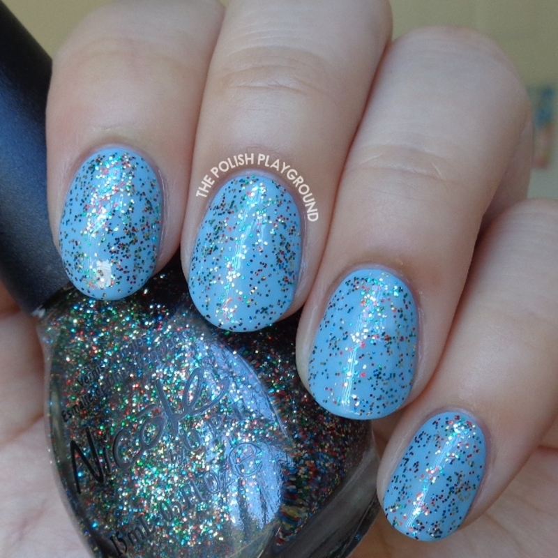Nicole by OPI Bring On The Tinsel Swatch by Lisa N