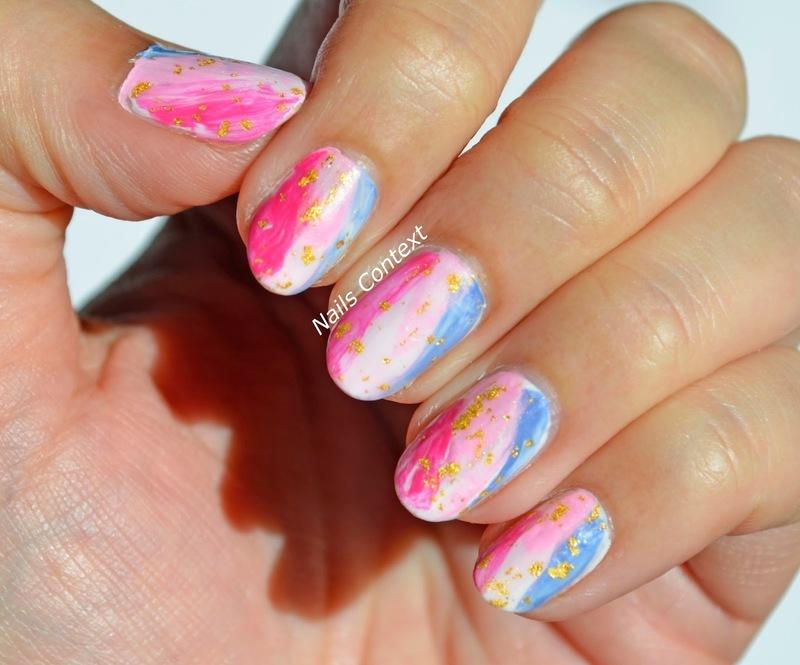 Painting Like Nails  nail art by NailsContext