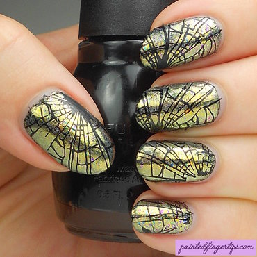 Nail art shattered glass thumb370f