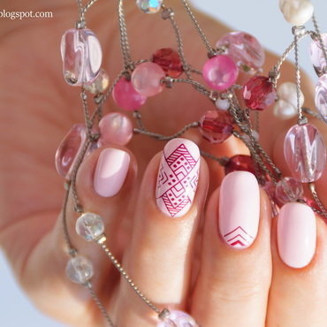 Angel Of The Morning nail art by 74ines