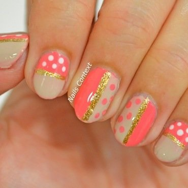 Coral 20and 20beige 20nails 201 thumb370f