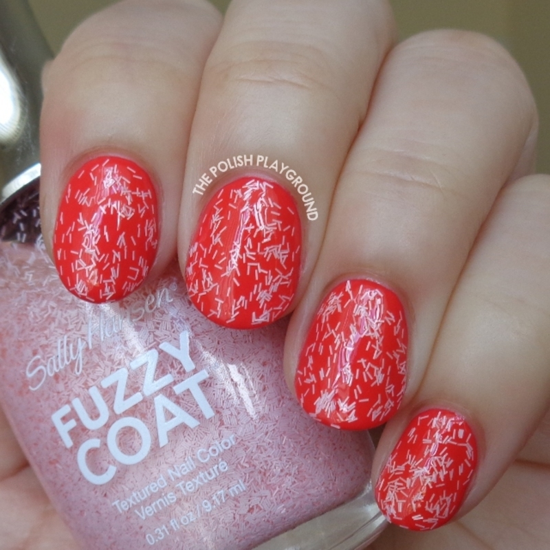 Sally Hansen Fuzzy Coat Wool Lite Swatch by Lisa N