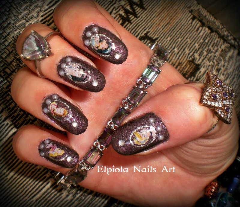 Disneyland Nails Nail Art By Elpiola Lluka Nailpolis Museum Of