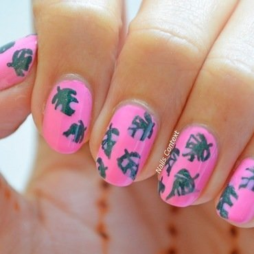 Pink palm leaves 3 thumb370f