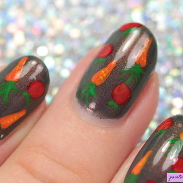 Recipe book nails nail art by Kerry_Fingertips