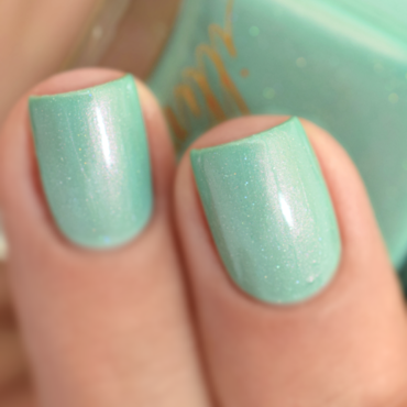Illimité Absinthe Swatch by melyne nailart