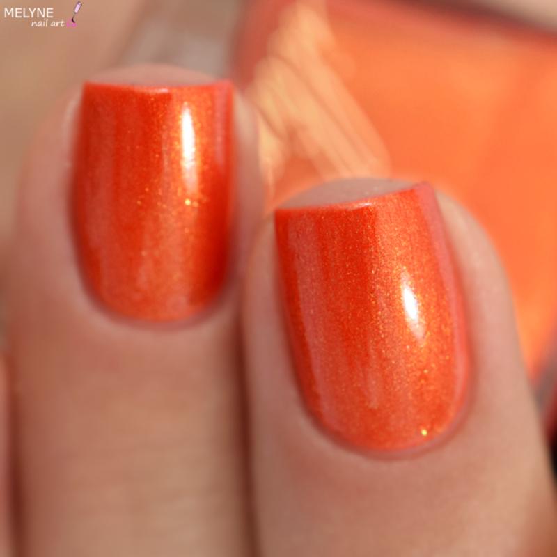 Illimité Moulin Rouge Swatch by melyne nailart