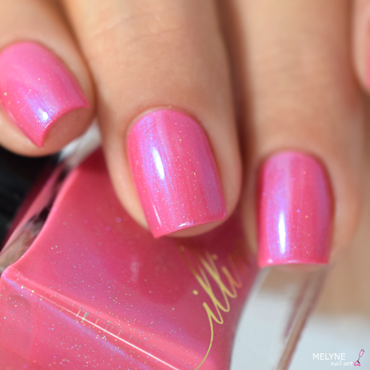 Illimité Sunrise Over the Seine Swatch by melyne nailart