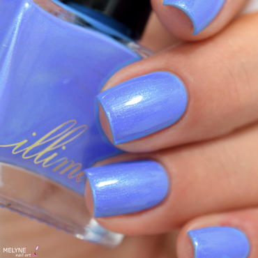 Illimité Paris on a Rainy Day Swatch by melyne nailart