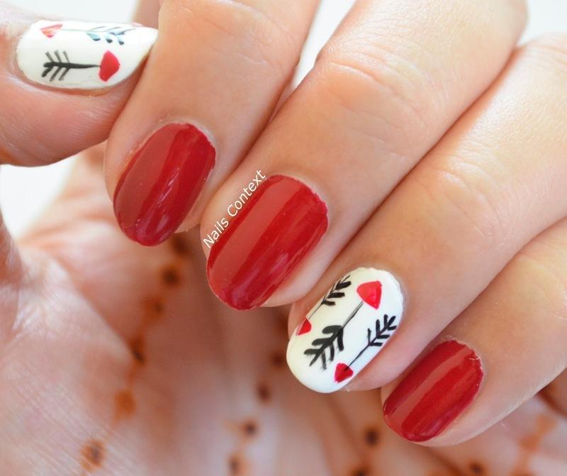 Arrow Nails  nail art by NailsContext