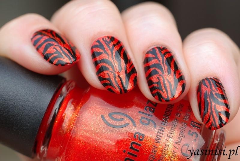 Tigress nail art by Yasinisi