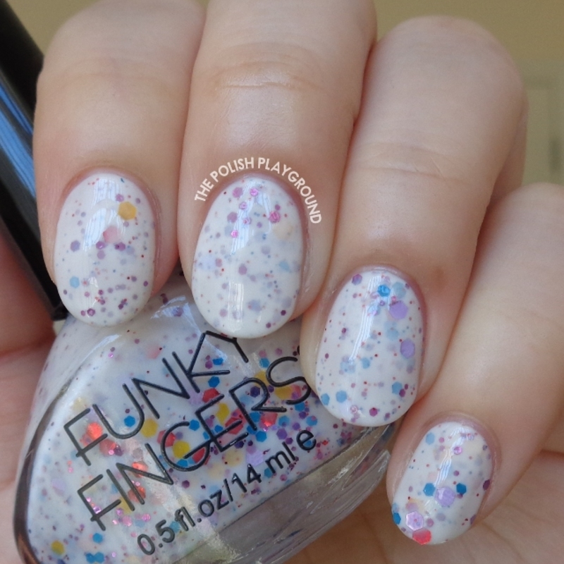 Funky Fingers jawbreaker Swatch by Lisa N - Nailpolis: Museum of ...