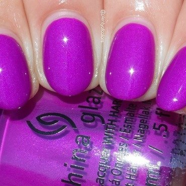 China Glaze Summer Reign Swatch by Plenty of Colors