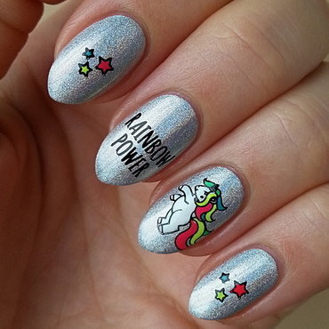 Summer Vacation Nail Project - Heaven nail art by Mgielka M