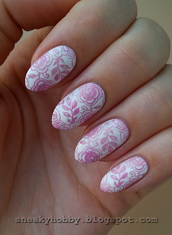 Summer Vacation Nail Project - Laces nail art by Mgielka M