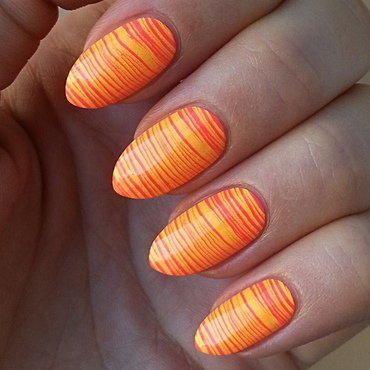 Summer Vacation Nail Project - Sunset nail art by Mgielka M