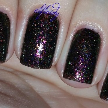 Top Shelf Lacquer Chocolate Raspberry Martini Swatch by Jenette Maitland-Tomblin