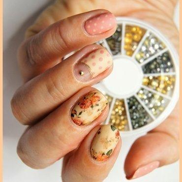 Vintage nail art by ELIZA OK-W