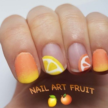 Nail art fruité nail art by Depoli