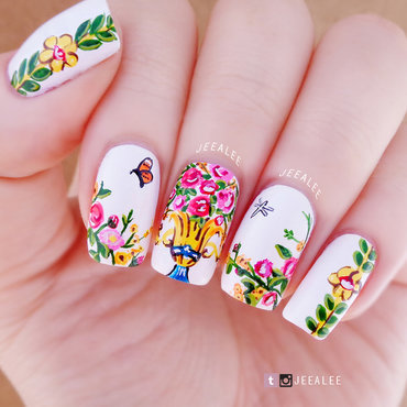 Floral 20nails 20  20d 26gl thumb370f