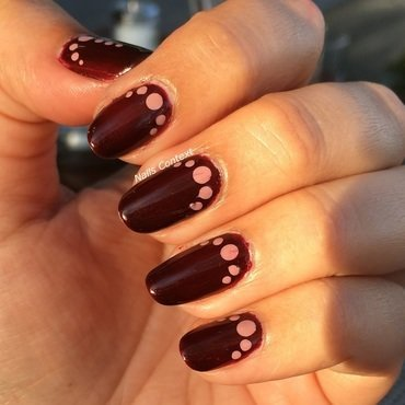 Dots and more dots  nail art by NailsContext