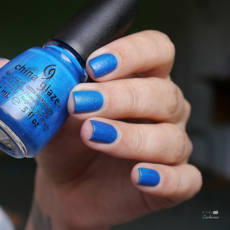 China Glaze Blue sparrow Swatch by irma