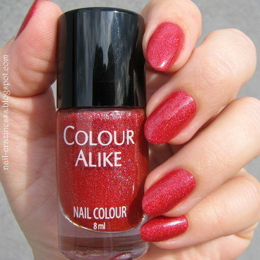Colour Alike 643 Felicidade Swatch by Nail Crazinesss